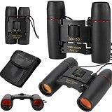 30x60 Folding Compact Zoom Binoculars Low Light Night Outdoor Telescope High Definition 1000M Long Range Binoculars