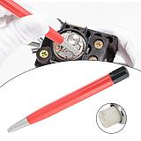 Practical Watch Rust Removal Brush Pen Glass Fiber / Brass / Steel Clean Scratch Polishing Tool Watch Parts Repair Tool New