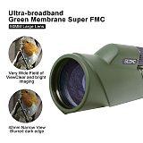 SCOKC Zoom Monocular 10-20x50 Bak4 Prism Powerful Telescope Monocular Waterproof Hunting Goods for Camping