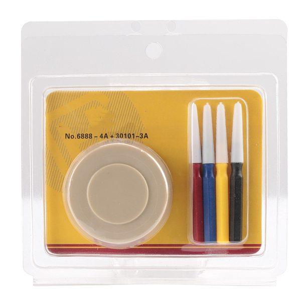 Watch Oiler Set 1 Oil Cup+4 Oil Pens Kit Plastic Watch Oiler Applying Lubricants Tool Watchmaker Watch Repair Maintenance Tool