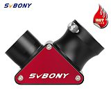 """SVBONY SV188P All-Metal 1.25"""" 90 Degree Zenith Mirror,Suitable For Refracting Telescope,99% High Reflective Dielectric Coating"""