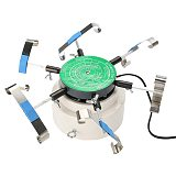 220V Automic-Test Cyclotest Watch Tester Watch Test Machine--Watch Winders For Six Watches At One Time Eu Plug