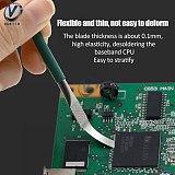 5 in 1 IC Chip Repair Thin Blade PCB Motherboard Repair Knife CPU Remover BGA Maintenance Knife Remove Glue PC Rework Processor