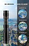 10-300X40mm Super Zoom Monocular Telescope Binoculars BAK4-Prism Body Steel Take Photo 4K Video Low Light Night Vision Camping