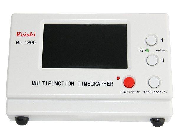 Weishi  Mechanical Watch Timing Tester Machine Multifunction Timegrapher NO. 1900