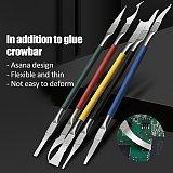 5 in 1 IC Chip Repair Thin Blade CPU NAND Remover BGA Maintenance Knife Remove Glue Disassemble Phone PC Rework Processor Tools