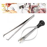 2pcs Professional A Style + B Style Watch Hands Remover Presser Kit Watch Hand Puller Fitting Tool Watch Repairing Tool Set New