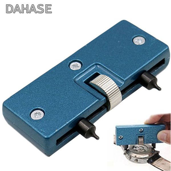 Solid Metal Watch Back Case Opener Tool Adjustable Screw-on Press Closer Remover Wrench Watch Remover Watchmaker Repair Tools