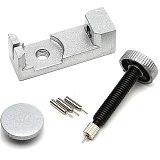 Professional Watch Band & Bracelet Link Remover Adjustable with Metal Watch Repair Tools for Watchmaker Silver Watch Repa Tool