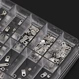 Assorted 10 Sizes Watch Parts Steel Watch Movements Fixing Adapter Securing Screws High Quality Watch tools For Watchmaker b