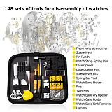 148pcs Professional Watch Tools Watch Opener Link Pin Remover Pry Screwdriver Watch Repair Tools Kit Clock watch parts hot sale