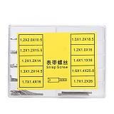 50pcs/100pcs Metal Watch Band Strap Screw Set Watch Repair Tool Accessories with Storage Box Quality Watch Tool For Watchmaker