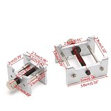 Two-in-one Watch Case Metal Movement Holder Watchmaker Clamp Repair Watch Tool