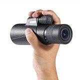 Baigish 10-30x42 High Zoom Monocular Military Telescope BAK4 Prism Binoculars Big Eyepiece lens Spotting Scope for Hunting