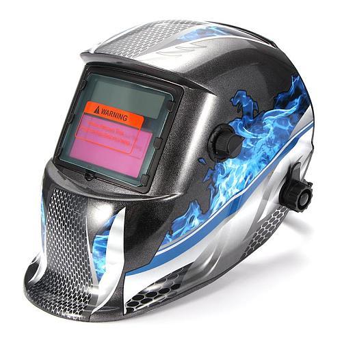 Safety Anti-UV Welding Mask Automatic Eyes Goggles Solar Glasses Lens Welding Photoelectric Helmet For Construction Welding Work