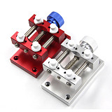 Stainless Steel Large Case Vise With Base Watch Holder for Watch Repair