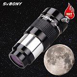 SVBONY 1.25  Telescope eyepiece barlow Lens  3x Fully Multi-coated Metal Advanced Achromatic Professional Astronomical Telescope
