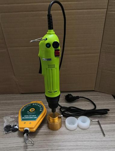 Food Bottle capping Machine handheld sealing machine bottles packaging equipment lid tightener Capping diameter 5-30mm