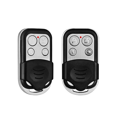 2pcs/Lot 433MHZ Wireless Remote Controller Metal Keychain for G18 G19 W2 W1 Home Security WIFI GSM Alarm System
