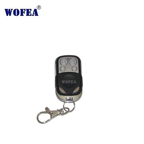 Wofea wifi alarm GSM alarm wireless remote control learning code 1527 433mhz