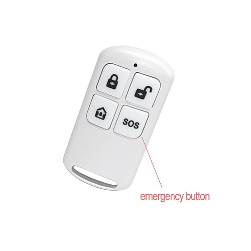 Wireless 433MHz EV1527 Arm & Disarm Remote Controller For PG-103 PG-105 PG-106 PG-107 Home Security Alarm System Wholesale Price