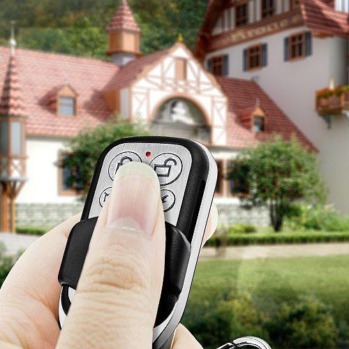 RC528 2Pcs Wireless Metallic Metal Remote Control Setting Arm/Disarm for K52 W18 W20 W2 Security Burglar Alarm System