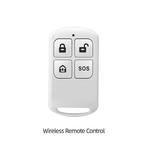GauTone PF50 Wireless Remote Control Arm Disarm Detector for Alarm System Home Security 433MHz