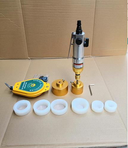 bottles Capping Machine handheld pneumatic power sealing capping packaging equipment lid tightener cap size 5-50mm