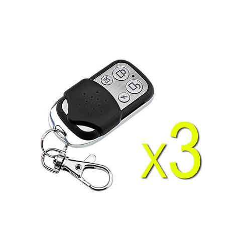 Free Shipping 433MHz Wireless Remote Controller, 4 keys, big button, very popular in European market