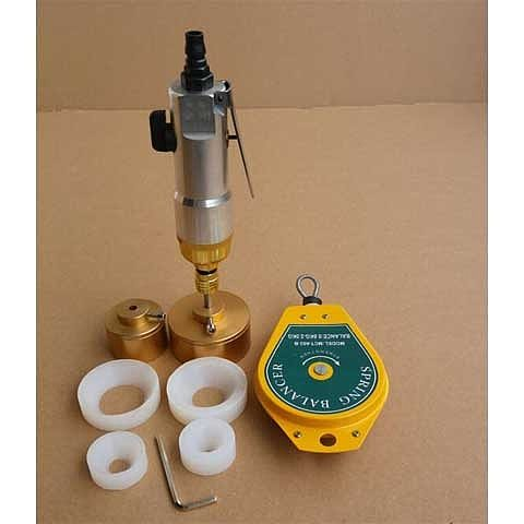 bottles Capping Machine handheld pneumatic power sealing capping packaging equipment lid tightener cap size 1-50mm