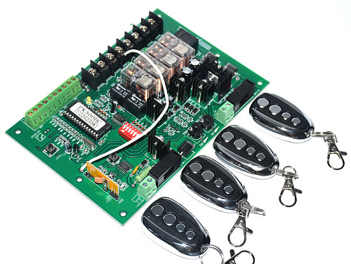24VDC swing gate opener control unit motherboard PCB motor controller circuit board card for solar 24VDC swing gate motor opener