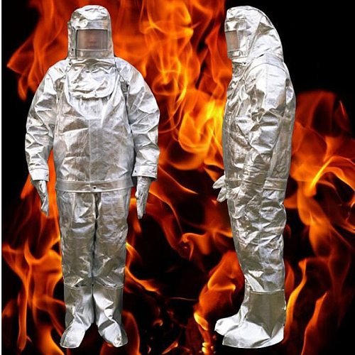 Fire Insulation Suit 500 °C HighTemperature Anti-scalding Radiation Protective Cloth Protective Insulated Fire-proof Suit DFH003