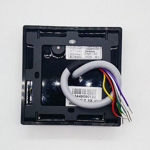 KR602E KR602M Wiegand 26 34 Keypad RFID 125Khz 13.56mhz Access Control Slave Card Reader