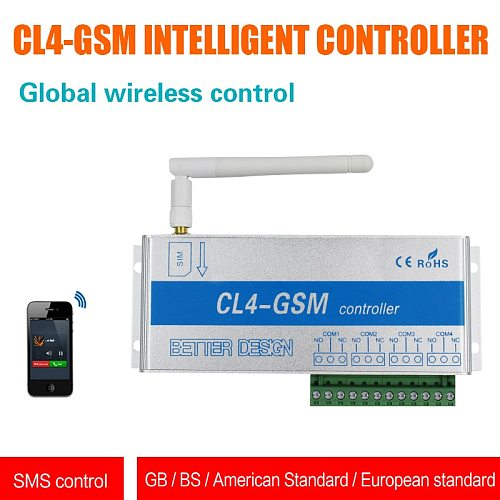 4ch 8ch 4 relay gsm relay call remote controller gsm barrier gate opener switch for home appliance water pump motor rolling door