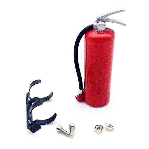 2018 Mini Fire Extinguisher Simulation RC Rock Crawler Accessory for Axial AMIYA CC01 RC4WD Climbing Cars Fire Extinguisher Toy