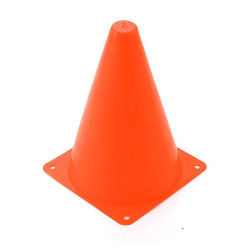 10pcs Training Equipment Football Anti-freezing Home Thicker Basketball With Hole Barrier Bucket Solid Traffic Cone Plastic