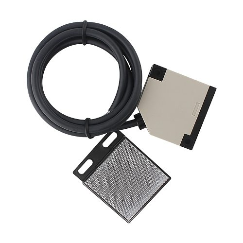 sliding garage door gate opener infrared beam Reflective Photocell for electrical gate photoelectric switch 2.5M gate photocells