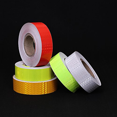 5cm*100cm Car Reflective Sticker Self Adhesive Warning Safety Reflection Tape Bicycle Accessories
