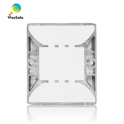 CE approved blue LED flashing light high quality waterproof solar road stud
