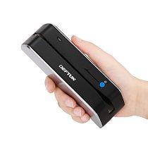 Deftun MSR X6bt bluetooth USB magnetic card reader writer MSRX6BT  compatible with msr605X msrx6 msr x6