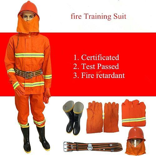 Fire Service Suit 97 Fire Training Suit 02 Fireproof Suit Miniature Fire Station Complete Equipment With Helmet Gloves Boot Belt