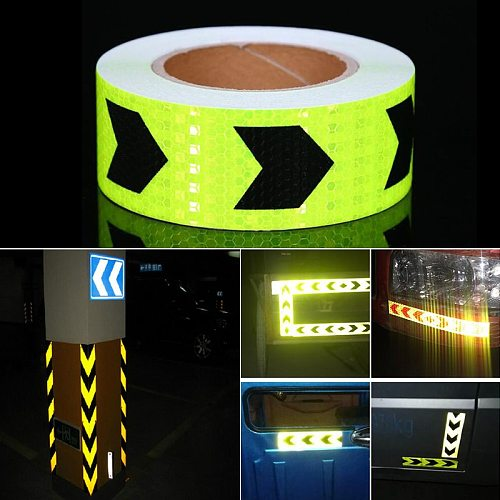 3M Fluorescent Yellow Reflective Tape Sticker For Car