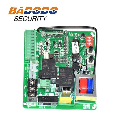 220VAC 370W to 1000W sliding gate opener motor control board electronic card controller pcb with optional remote control