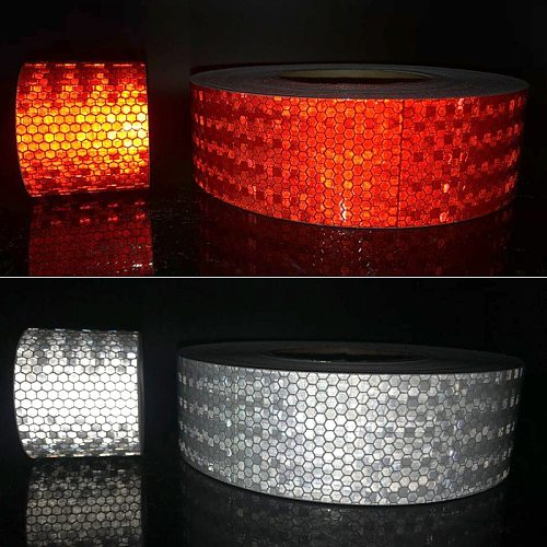 5cmx50m/Roll  Reflective Tape For Car Protection