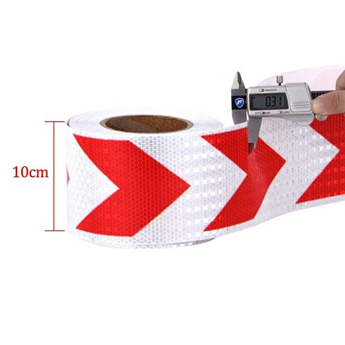 width 10cm Self Adhesive  Tape Safety Reflective Tape for Truck