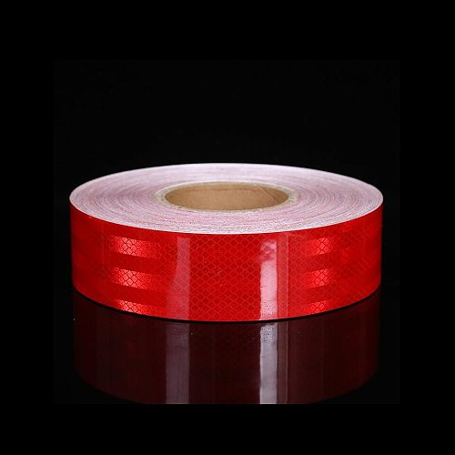 5cmX10m/Roll Reflective Tape Safety Mark Warning Conspicuity Film Car Truck Motorcycle Cycling Stickers