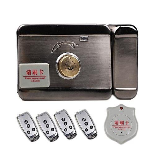 Room Door Locks Smart Magnetic Stanard RF Card 125KHZ Electronic House Locks Keypad Door Lock DC12V Convenient And Modern