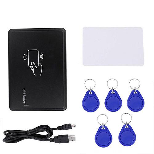 USB card reader copy writer em4305 t5577 card reader rfid copier 125 khz programmer burner for home security access control