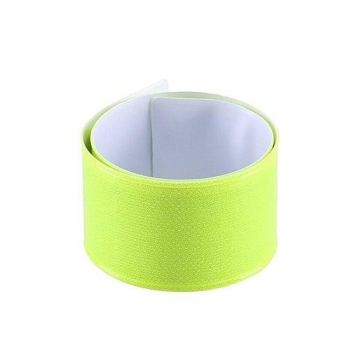 12PCS Reflective Bands High Visibility Reflector Bands Night Safety Reflective Slap Bracelet for Running Cycling Walking