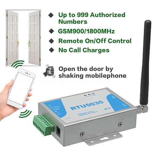 RTU5024 RTU5035 2G 3G GSM Gate Opener Relay Switch Wireless Remote Control Door Access Door Opener Free Call for Parking Systems